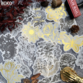 WOKO 60 pçs/lote Selo Ouro De Papel Washi Etiqueta Grande Saco Retro Planta Preto Ouro Rosa Decoração Adesivo DIY Scrapbooking Planejador