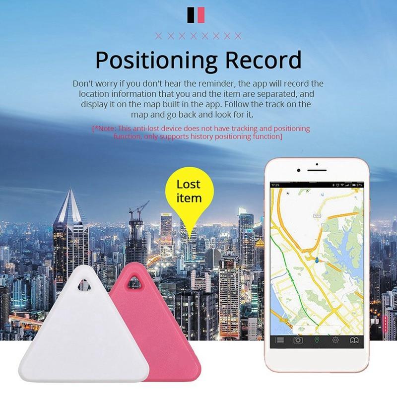 Cute Mini Anti-Lost Anti-Theft Device Object Alarm Portable Bluetooth 4.0 Pet Remote GPS Tracker Smart Tracking Alarm For Women