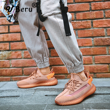 Coconut Shoes Men's Spring Mesh Couple Couple Casual Knitted Sports