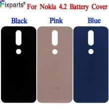 100% nowa pokrywa baterii dla Nokia 2.2 obudowa tylna obudowa dla Nokia 4.2 wymiana pokrywy baterii dla Nokia 3.2 Back Cover