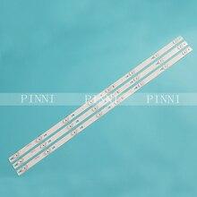 1Set = 3 Stuks Led Backlight Voor T C L L43E5800A UD OEM43LB06 LED3030F2.1 V1.2 DS 4C LB4308 YM01J