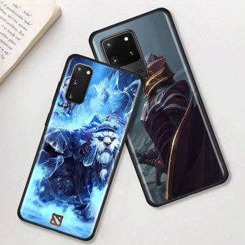 Dota 2 Game Phone Case For Samsung Galaxy S20 FE S10 Plus Lite S21 Ultra S8 S9 Plus S10e S7 Edge Black Shell Cover 2