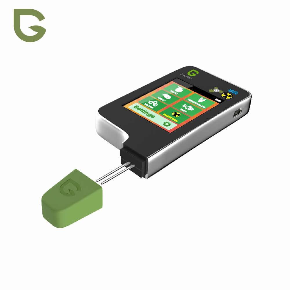Greentest ECO-5F 3 In 1 Digital Makanan Nitrat Tester Konsentrasi Meter Analyzer Buah/Daging/Ikan Air Kekerasan Radiasi meter