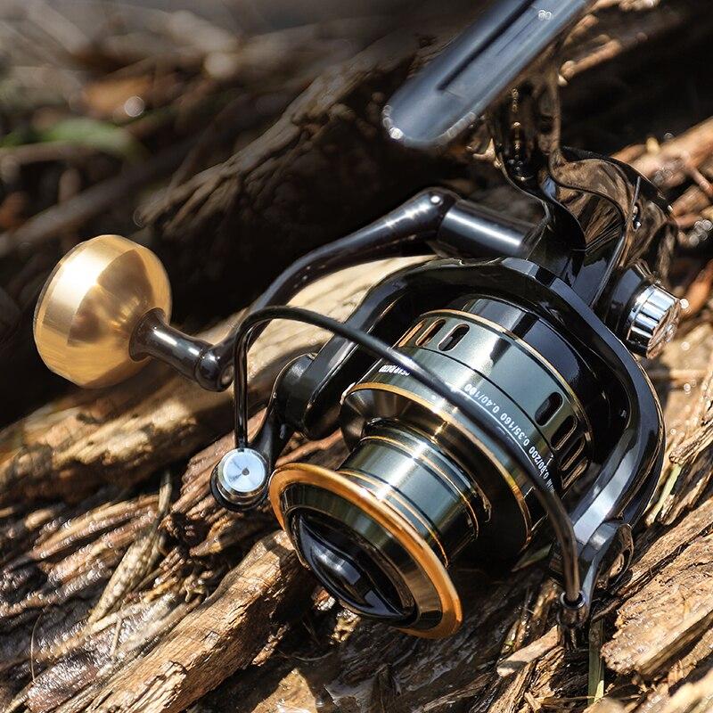 Black Golden Baitcast Reel 4