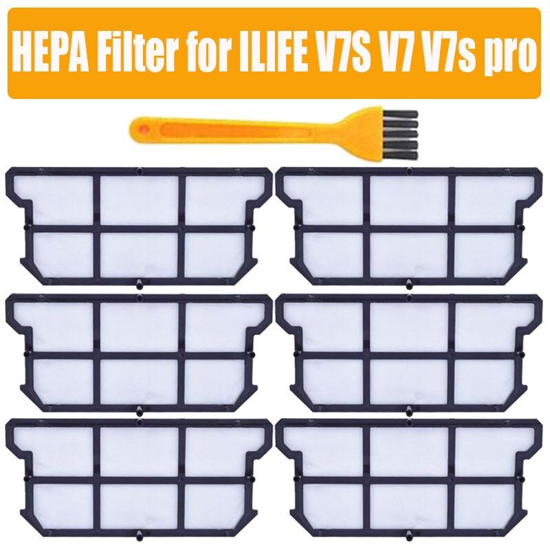 Original Efficient Dust HEPA Filter For ILIFE V7S V7 V7s Pro Ilife V7s Plus Robot Vacuum Cleaner Accessories Parts