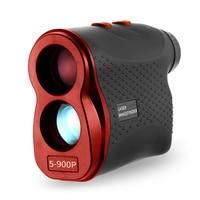 Telémetro láser de 900M/600M, probador de velocidad, Telémetro Láser, Digital, medición de caza, telescopio Monocular para Golf