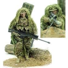 30 centimetri 1:6 Realistico Soldato Militare Action Figures Regalo Del Giocattolo Con Giunto Mobile Per I Bambini Scherza il Regalo-All Terrain sniper
