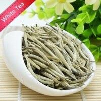 Alta Qualidade Orgânica Bai Hao Yin Zhen Chá Branco Bai Hao Agulha de Prata Chá Branco Alimento Chá Chinês Agulha de Prata alimento verde|Bules|   -