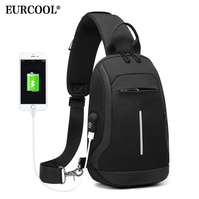 EURCOOL Fashion Shoulder Bag Men For 9.7