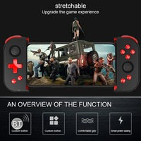 Phone Stretchable Bluetooth Game Controller Mobile Game Trigger Shooting Controller Pubg Fire Button Handle For Android iOS