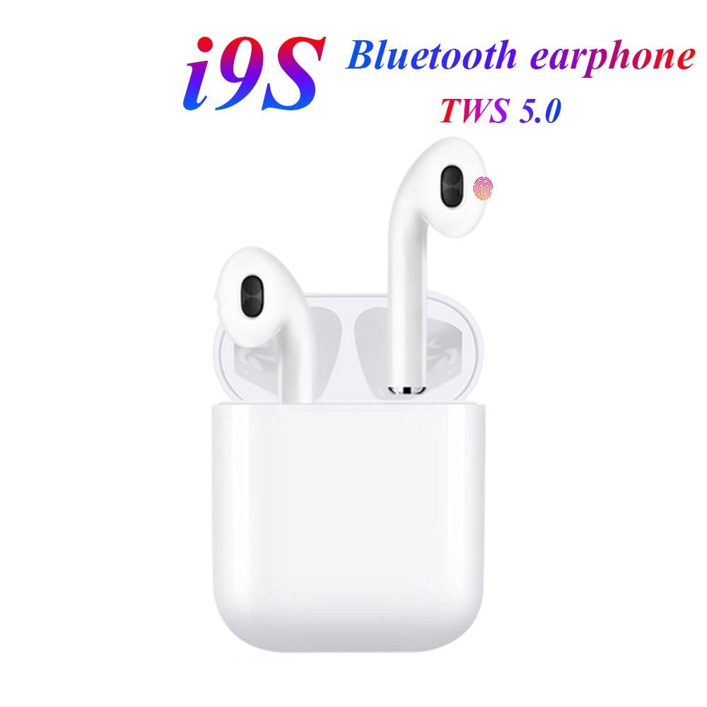 I9s /i7S TWS 5.0 Bluetooth Earphones Wireless Headphones Sports Headset Stereo Handsfree Gaming Headset For Samsung Huawei Phone