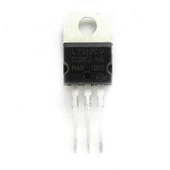 10pcs/lot L7812CV L7812 7812 TO-220 In Stock - discount item  8% OFF Active Components