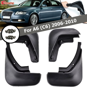 Fit For Audi A6 (C6) 2006 2007 2008 2009 2010 Sedan Mud Flap Flaps Splash Guard Mudguard Accessories 4pcs/Set