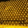 2 × 2 メートル 3 × 2 メートル 6x4m ledネットメッシュクリスマスストリングライト花輪窓カーテンクリスマスの妖精ライトウェディングパーティーホリデーライト