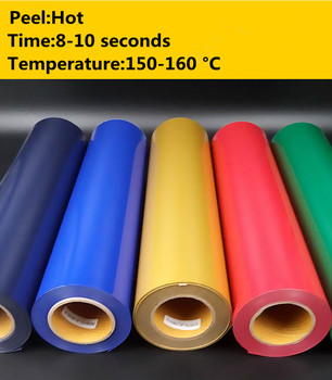 SUNICE 21X30CM Glossy HTV Heat Transfer Vinyl Film PVC Heat Press Vinyl Iron on Clothing Hat Bag Film DIY Design Vinyl Art Paper 1