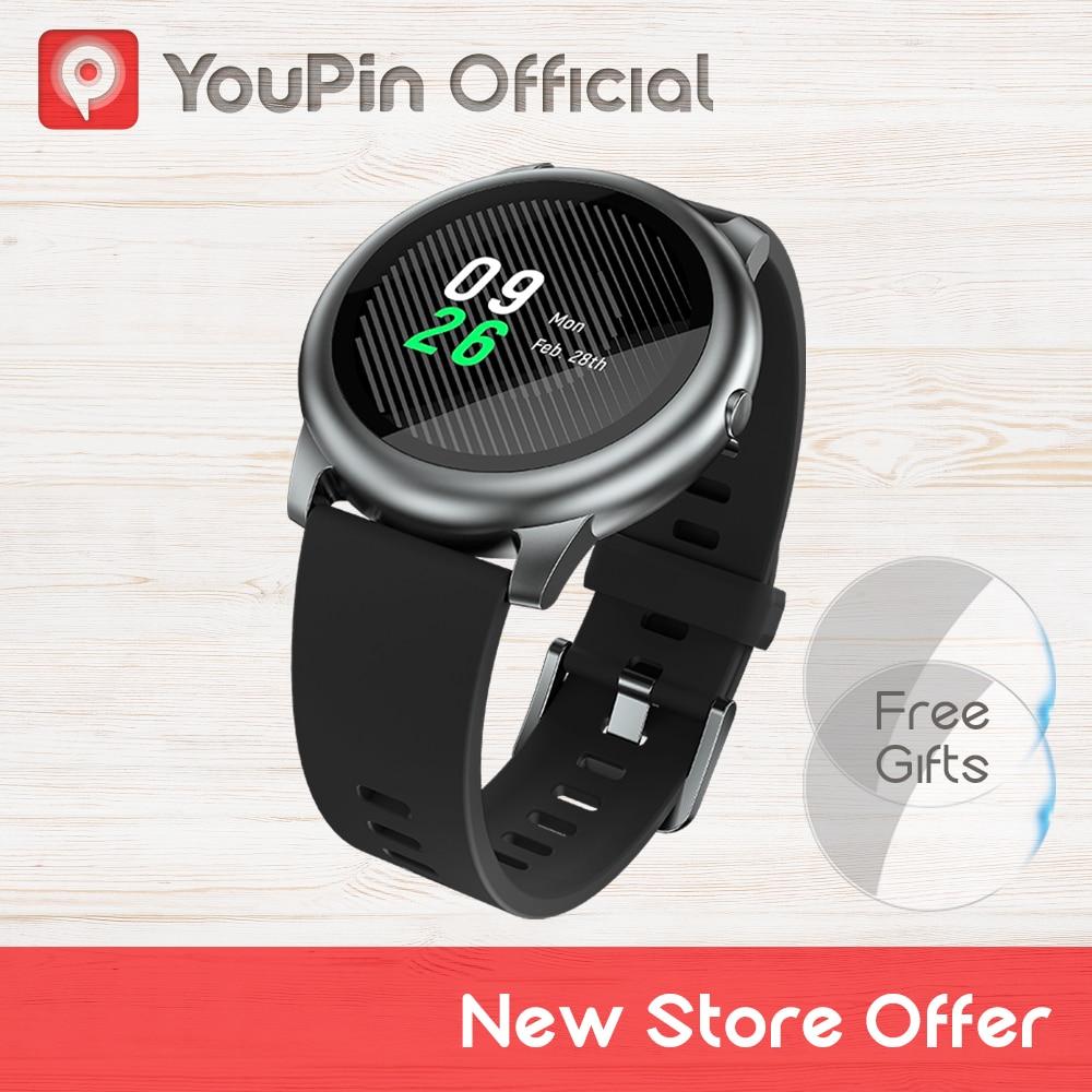 Youpin haylou Solar ls05 relógio inteligente esporte caso de metal monitor sono freqüência cardíaca ip68 à prova dip68 água 30...