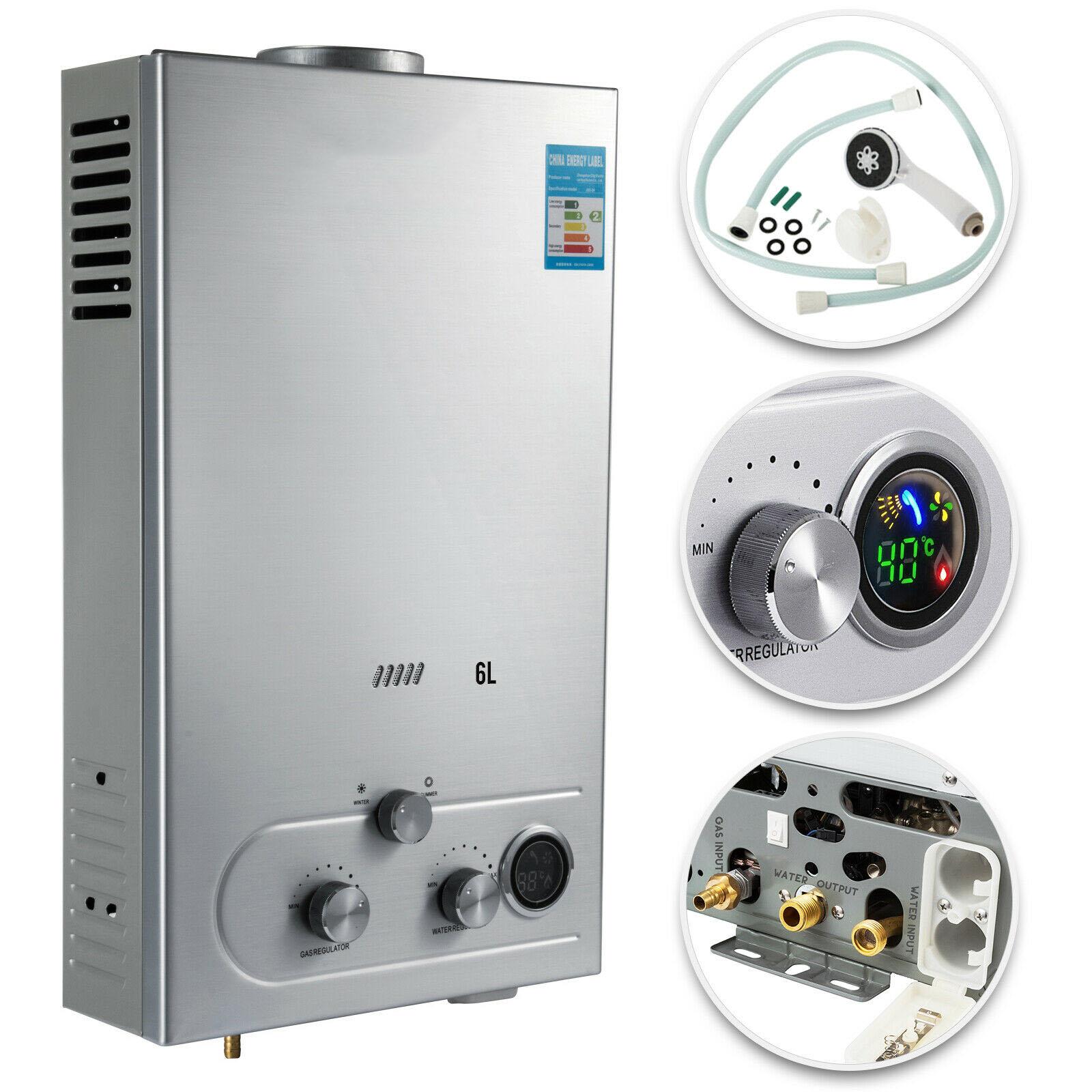 6L Hot Water Storage Gas Water Heater Propane Gas Water Heater Boiler