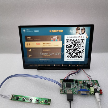 10.1 inch display module kit 1280X800ips full angle HDMI VGA signal source input built-in amplifier