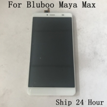 """Utilisé écran daffichage LCD + écran tactile + cadre pour BLUBOO Maya Max MTK6750 Octa Core 6.0 """"HD 1280x720 + numéro de suivi"""