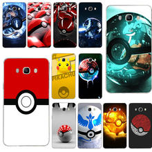For Samsung Galaxy A3 A5 A7 A8 A9 Plus On5 On7 2016 2017 2018 Grand Core 2 Prime Shell Soft TPU Cover Pokemons Pika Go PokeBall(China)