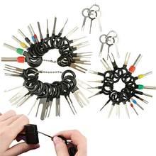 60 sztuk wtyczka samochodowa Terminal narzędzie do usuwania igła zwijacz wybierz elektryczny drut ściągacz zestaw narzędzi ręcznych Dropshipping