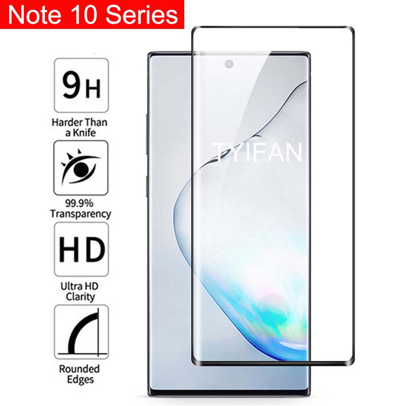 Tempered Glass Phone Case For Samsung Note 10 Plus Pro Protective Glass Shell Accessories On Galaxy Not Note10 Not10 10pro Glas