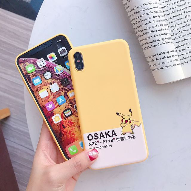 Japan Super Cartoon Pockets Monsters Case For iPhone
