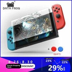 Daten Frosch Premium Gehärtetem Glas Screen Protector Für Nintendo Schalter Bildschirm Protector Für Nintend Schalter NS