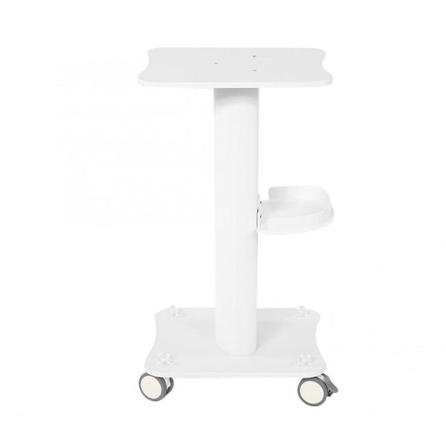ABS Beauty Salon Trolley Salon Use Pedestal Rolling Cart Wheel Aluminum Stand  Personal Care Appliance Parts