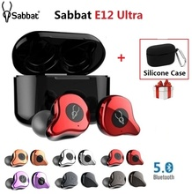 Sabbat E12 Ultra QCC3020 TWS Qualcomm Bluetooth Earphone V5.0 Aptx Wireless Earphones Sports HiFi Stereo in ear earbuds