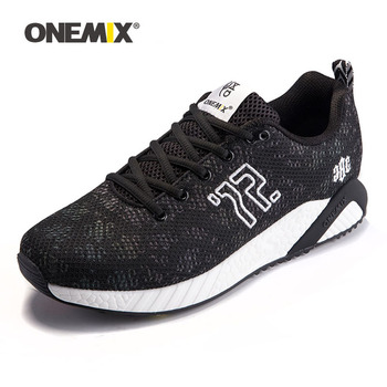 ONEMIX Men Running Shoes Lightweight Breathable Mesh Athletic Sports Shoes for Outdoor Jogging Women Walking Sneakers Size 35 47