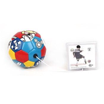 Soccer Training Ball Size 3 for Kids Graffiti Backyard Football Soccer Training Equipment Outdoor Sports Toys Gift for Children фото