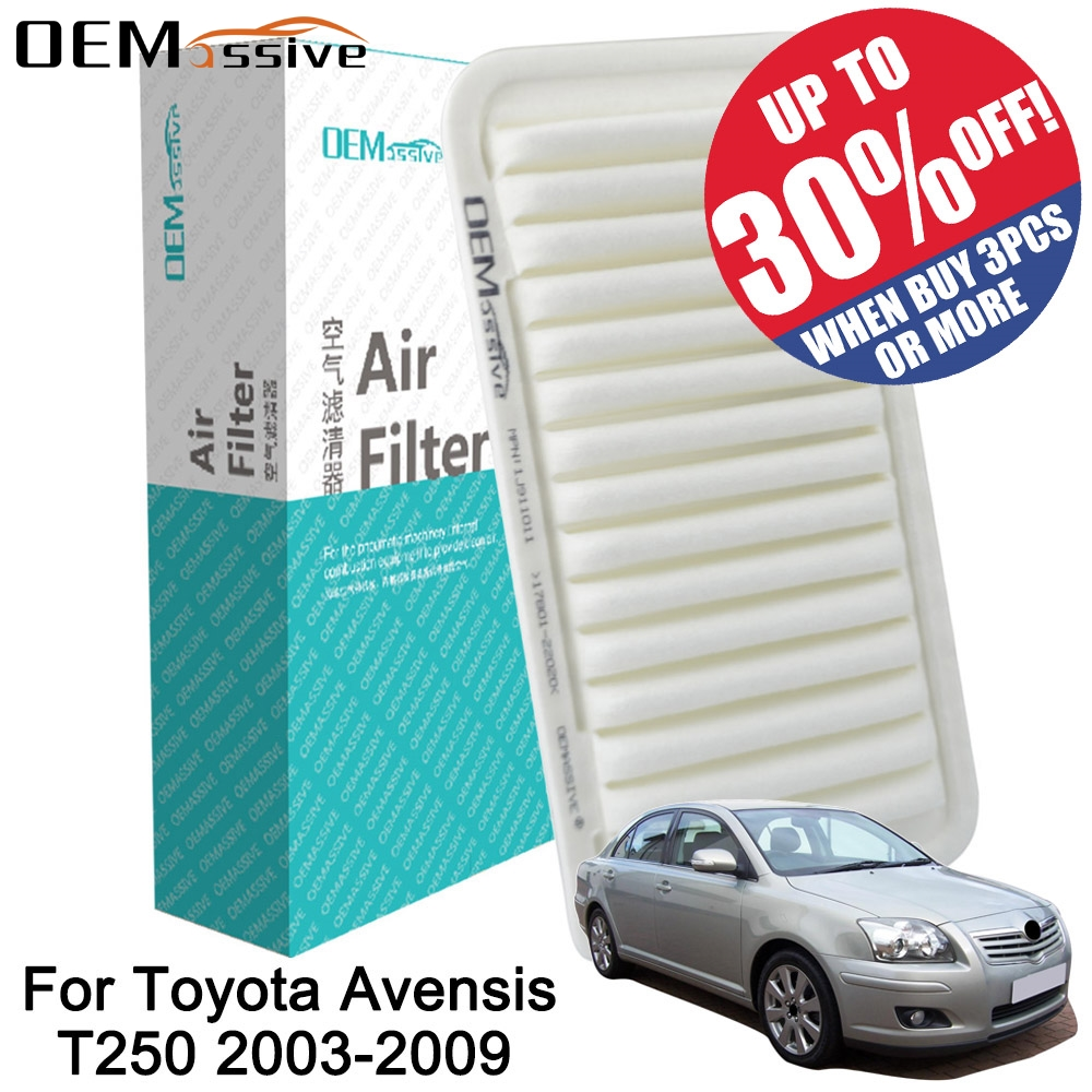 2 PACK OEM TYPE TOYOTA CABIN AIR FILTER AVALON CAMRY COROLLA RAV4 PRIUS AND MORE