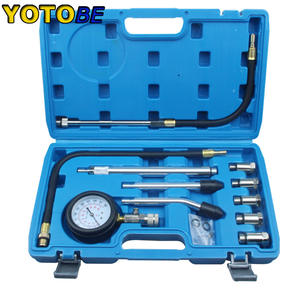 Compression-Tester-Kit Auto-Tools Gasoline Petrol Professional M14 with M10 M12 M16 M18