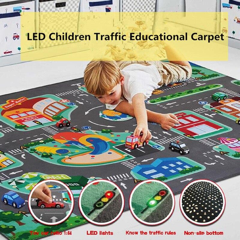 Waterproof Non-slip Kids Baby Game Crawling Mat Pad Blanket Carpet Newly