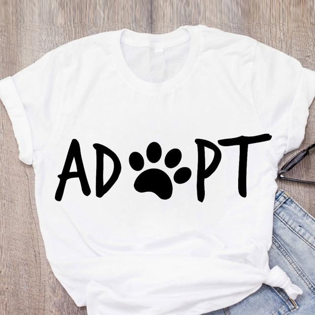 Adopt Women's T- Shirt Tops 7