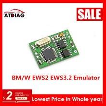 2-20 adet BMW EWS IMMO otomatik EWS2 EWS3.2 Emulator bmw E34 E36 E38 E39 E46 otomatik EWS IMMO Immobilizer