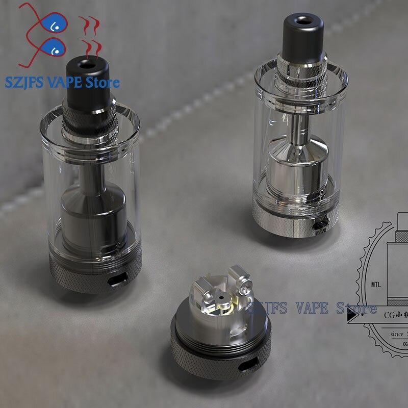 Original Auguse V1.5 MTL RTA With 5 Airflow Inserts 4ml Atomizer Vape Tank Vaporizer Vs Taifun Gtr Rta  Spica Pro Stil MTL RTA