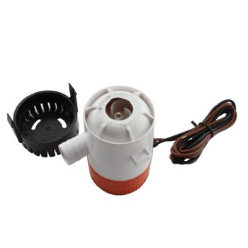 Yacht DC bilge pump Stainless steel shaft Drain pump Electric Heavy Duty Marine submersible pump Boat RV wholesale 10 pieces heavy duty stainless steel spring for boat yacht marine camper av 214mm long hardware accessaories