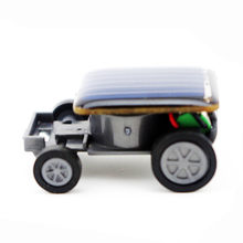 Più piccolo Solar Power Mini Giocattolo Per Bambini Auto Giocattolo Racer Educational Solar Powered Giocattolo Dei Bambini Educativi Hobby del Dispositivo Regalo Divertente(China)