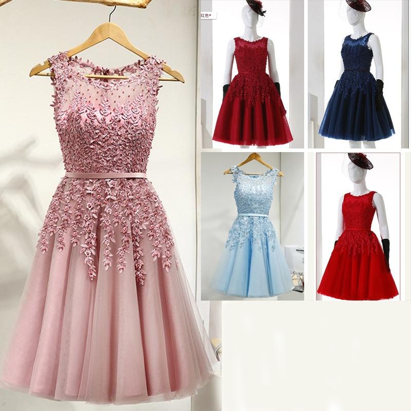 Beautiful Lady's Wedding Dinner Bead Dresses 2019 New Dinner Dance Birthday Party Dresses Vestidos De Fiesta