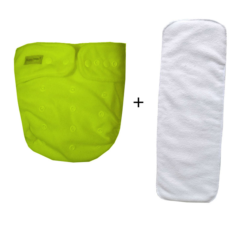Adult Diapers  Can Wash Cloth Diapers Old Urine Does Not Wet Diaper Pants Incontinence  Waterproof (1pcs Nappies+1pcs Insert)
