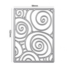 GJCrafts Circle Background Frame Dies Metal Cutting for Card Making Scrapbooking Embossing Cuts Stencil New 2019