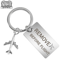 Luggage-Tag Travel-Accessories Crew Aviation-Lover Engraved Pilot Flight for Before Rmove