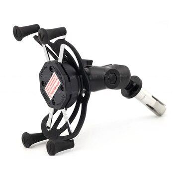 цена на Phone Holder For SUZUKI GSXR 600/750 GSXR600 GSXR750 06-12, GSX-R 1000 03-04/09-20 Motorcycle GPS Navigation Bracket USB Charger