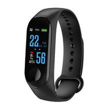 Color Screen Smart Bracelet Fitness Tracker Step Counter Heart Rate Sports Information Push Waterproof Watch