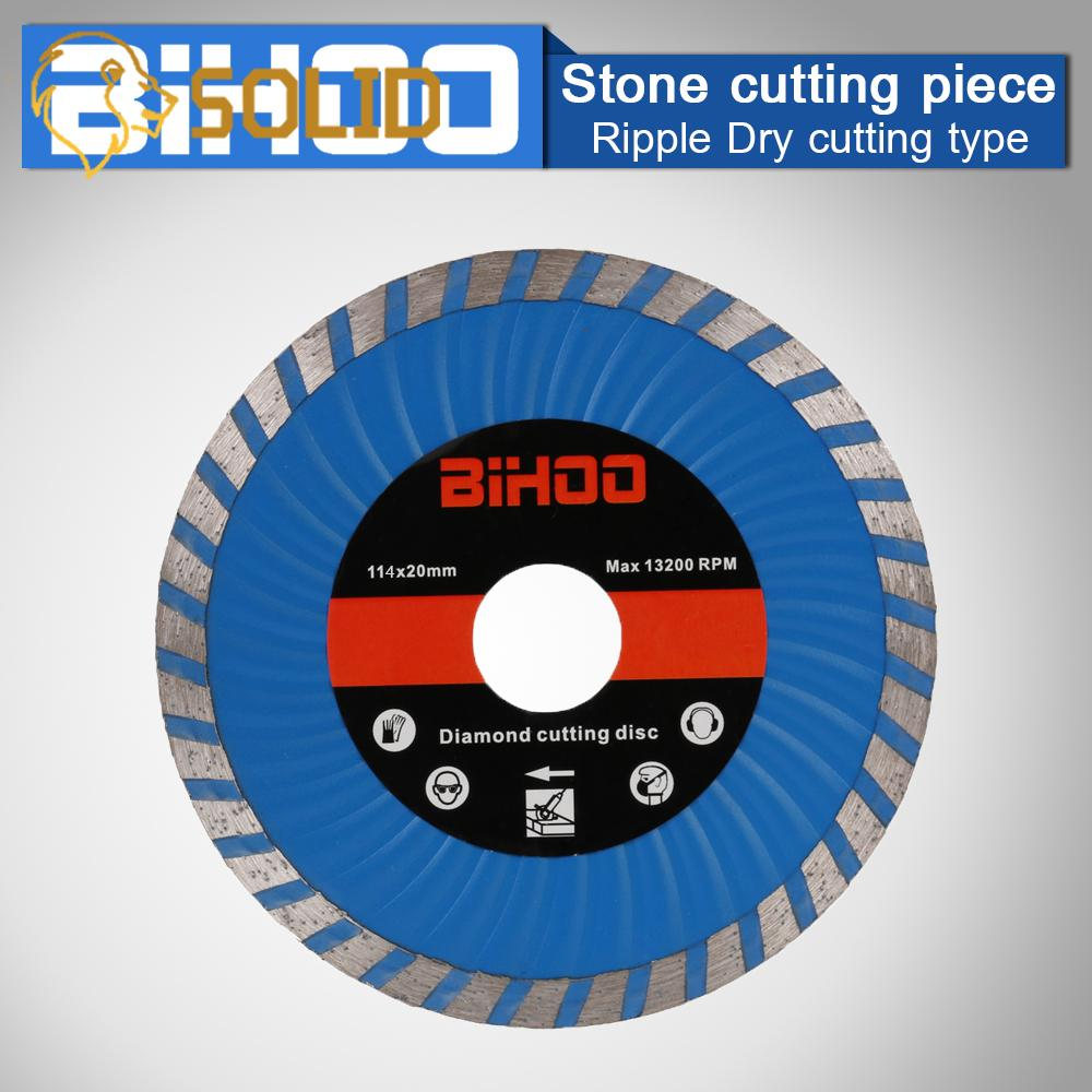 "4.5/"" Diamond Saw Blade Cutting Disc Tool for Stone Materials Grooving 4//5/"" Hole"