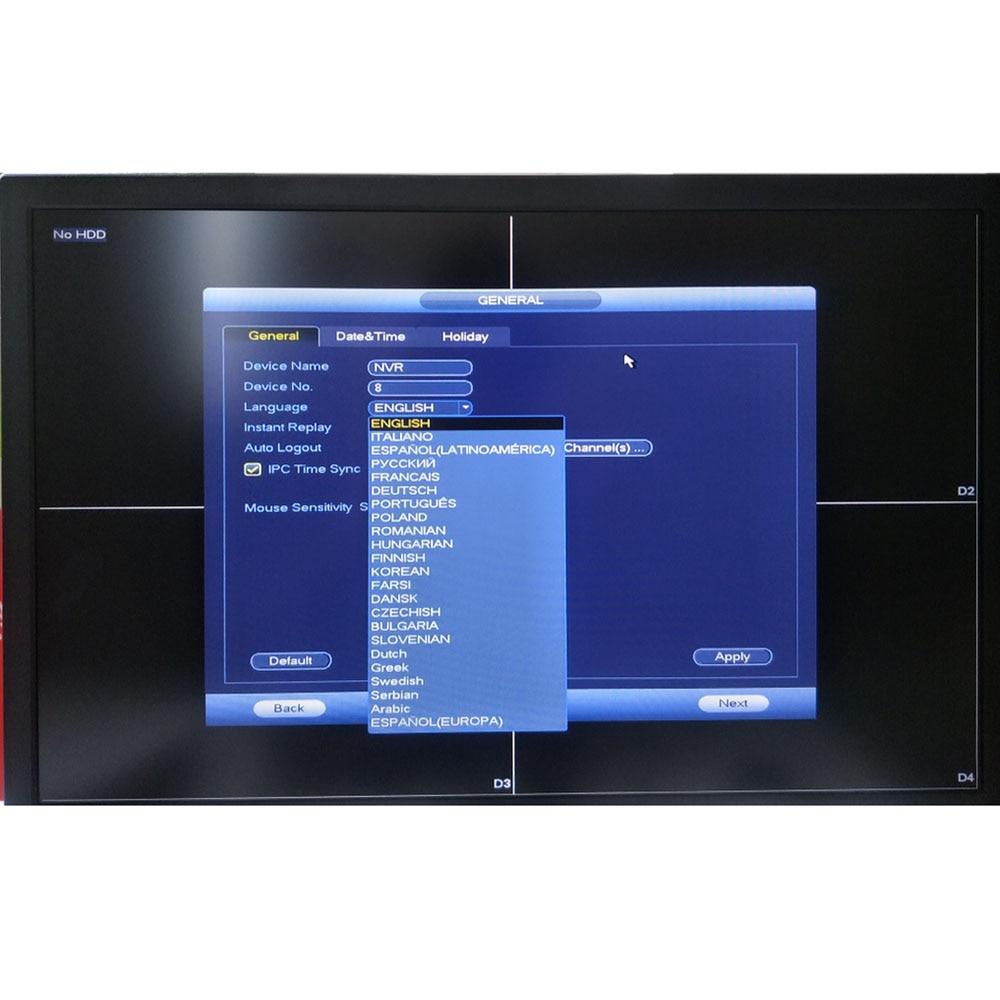 Dahua NVR NVR4104-P-4KS2 NVR4108-P-4KS2 Grabadora de video de 4 - Seguridad y protección - foto 2