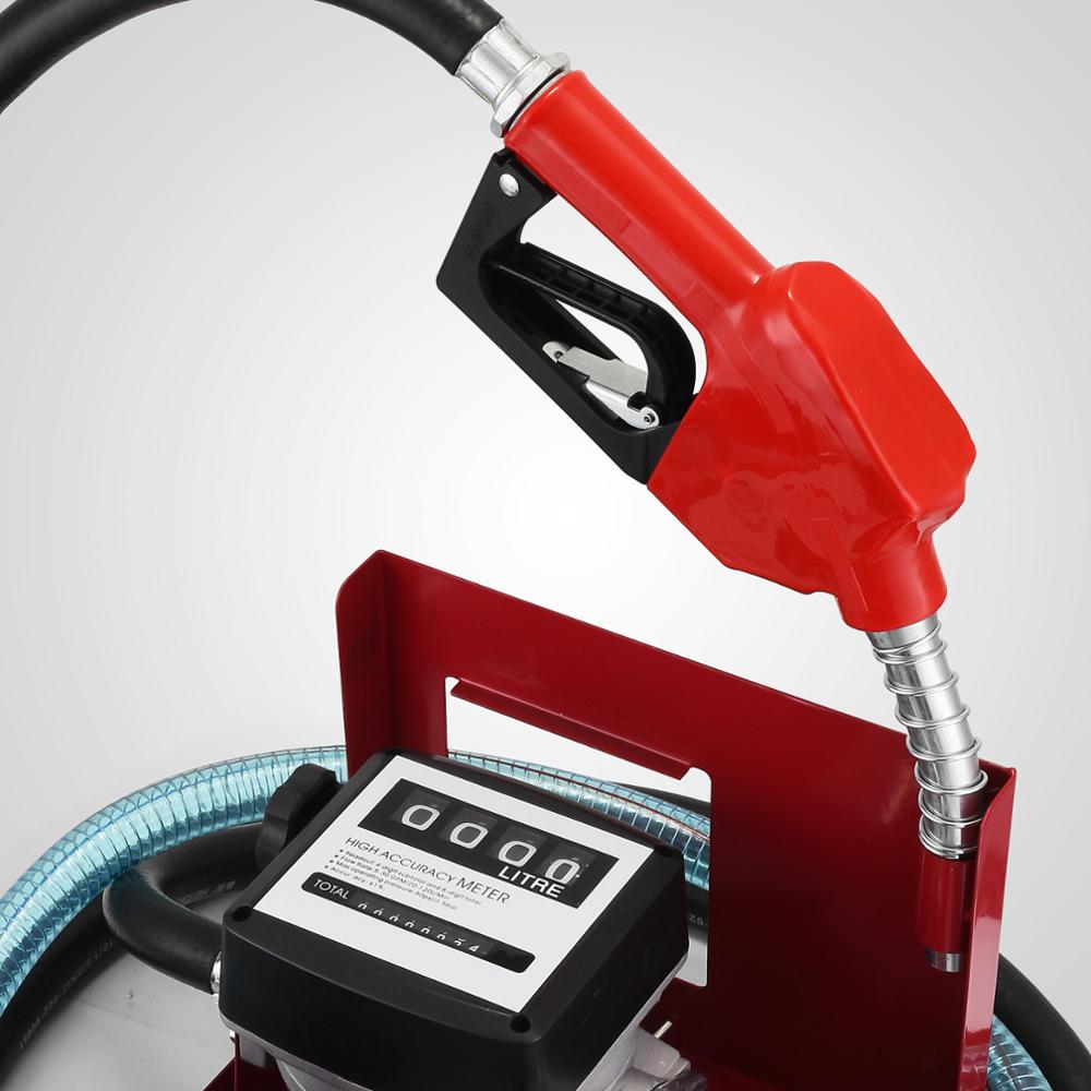 H/D Self Priming Electric Oil Pump Transfer Bio Fuel Oil Diesel 230v 40L/Min New - 3