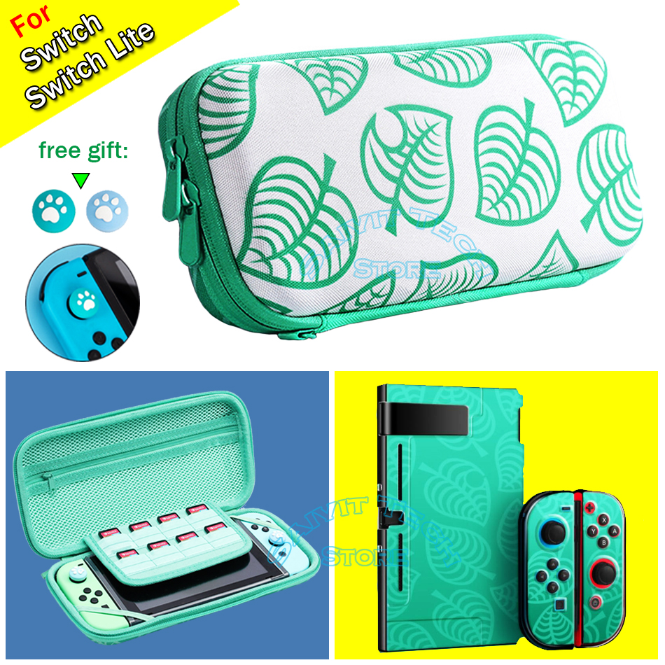 Nintend Switch Case Animal Crossing Nintendos Console Storage Bag for Nitendo Switch/Lite AnimalCrossing Accessories